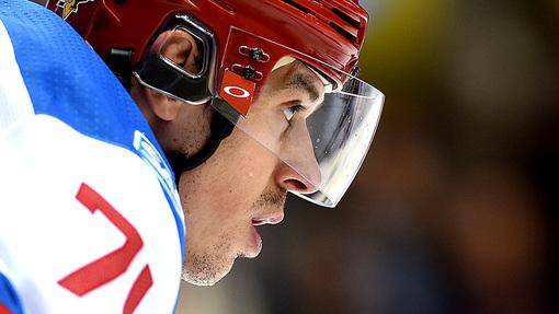 Евгений Малкин снова не смог проявить себя в сборной России
