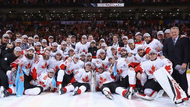 Сборная Канады — двукратный триумфатор Кубка мира