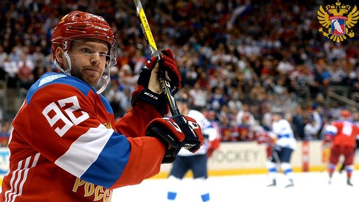 Евгений Кузнецов был одним из лидеров сборной России на Кубке мир