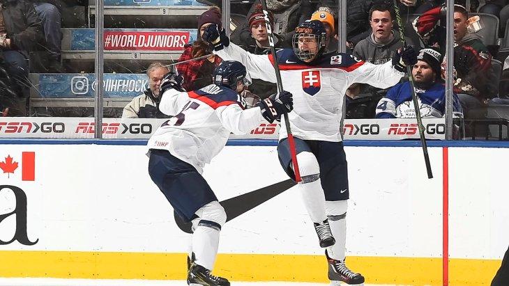Словаки переиграла Латвию