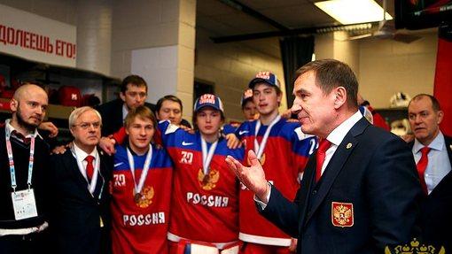 Валерий Брагин снова привел молодежную сборную России к медалям чемпионата мира
