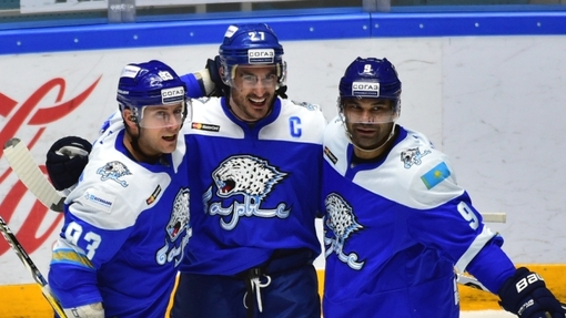 Хоккеисты «Барыса»
