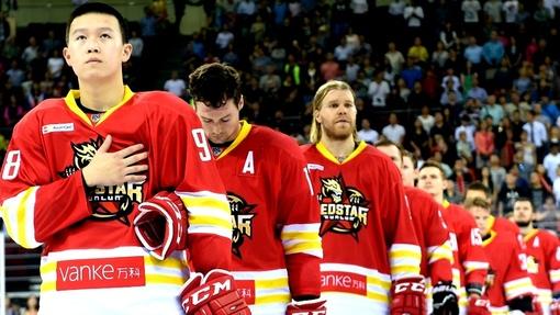 «Куньлунь» попал в плей-офф в своем дебютном сезоне в КХЛ