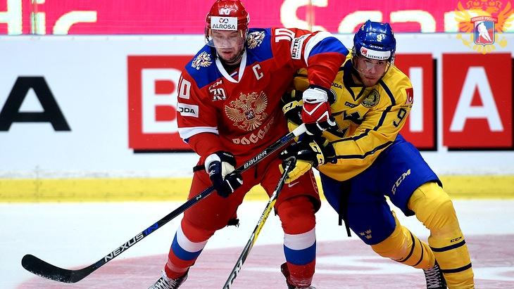 Сборная Швеции станет главным соперником россиян на ЧМ-2017