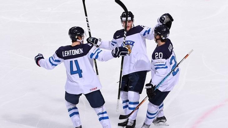 Белорусы проиграли Финляндии на ЧМ