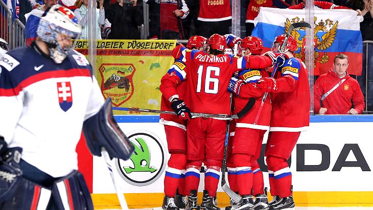 Россия — Словакия