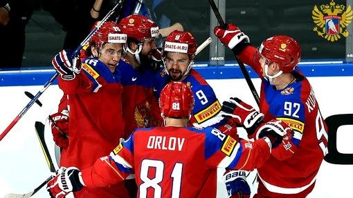 Сборная России уверенно выиграла у Чехии