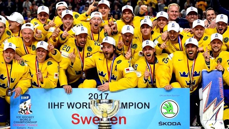Сборная Швеции — победитель ЧМ-2017