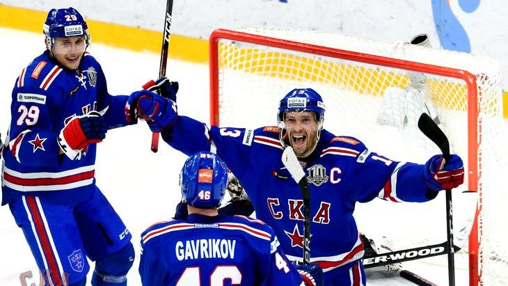 СКА продлил серию побед до 11-ти матчей
