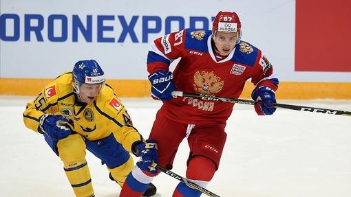 Россияне обыграли шведов со счетом 3:1