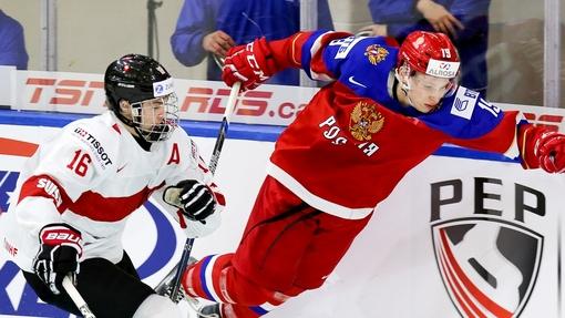 Сборная России обыграла швейцарцев со счетом 5:2