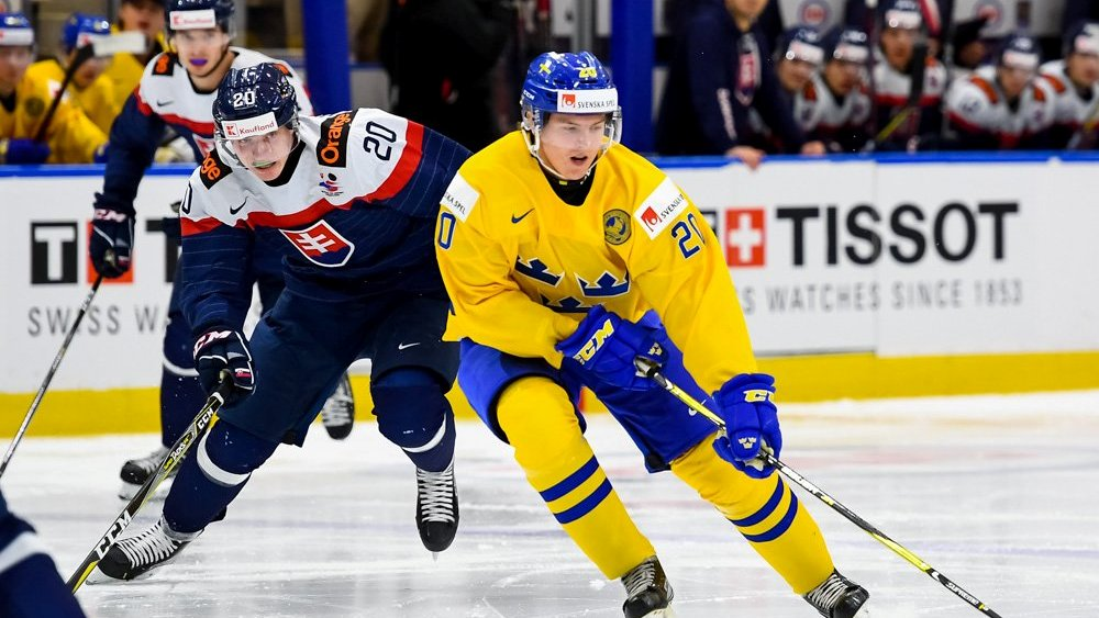 Шведы обыграли Словакию