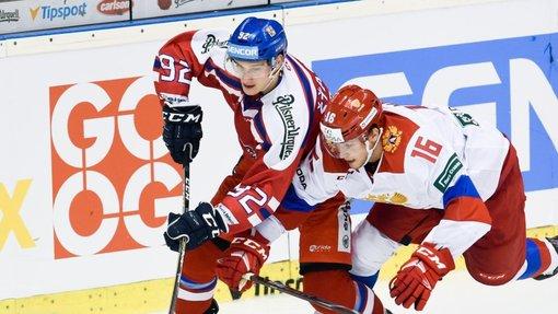 В заключительном матче в Пардубице россияне уступили чехам (1:2)