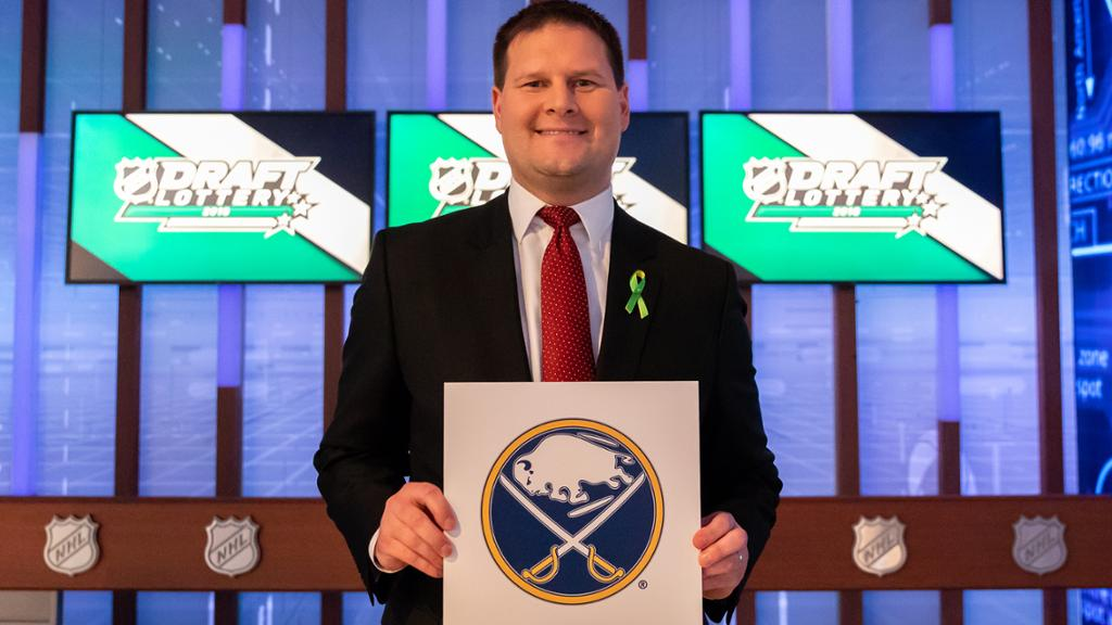 «Баффало» выиграл лотерею драфта НХЛ