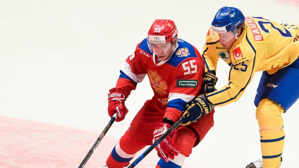 Россияне уступили Швеции со счетом 1:3