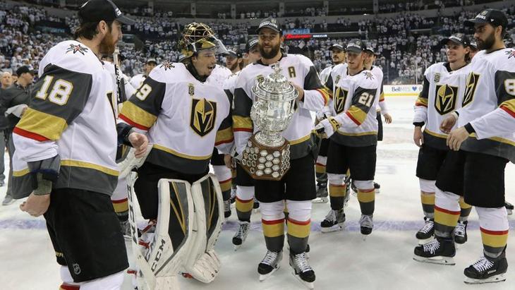 «Вегас Голден Найтс» — победители Западной конференции НХЛ