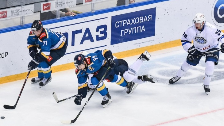 Героем матча стал Кирилл Капустин