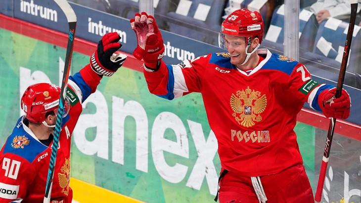 Россия проведет второй матч на турнире