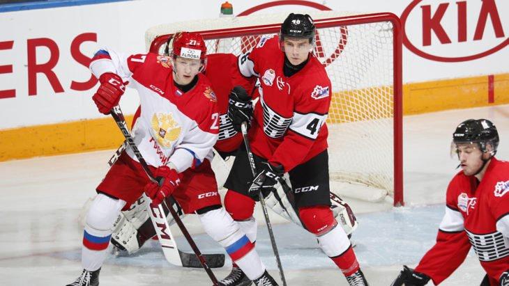 Молодежная сборная России вышла вперед в Суперсерии