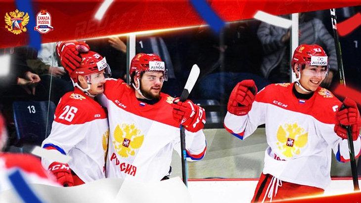Молодежная сборная России выиграла суперсерию