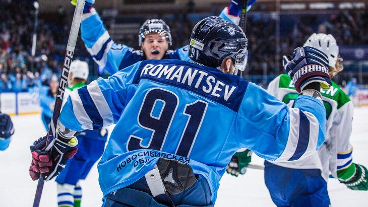 «Сибирь» празднует третью победу подряд