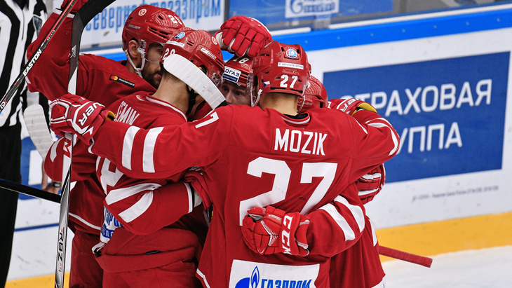 Хоккеисты «Витязя»