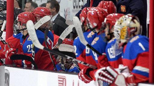 Юниорская сборная России обыграла канадцев в Мировом кубке вызова