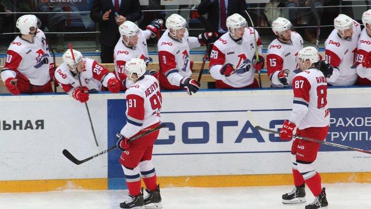 Хоккеисты «Локомотив»