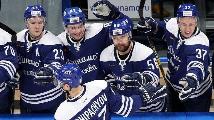 Хоккеисты «Динамо»