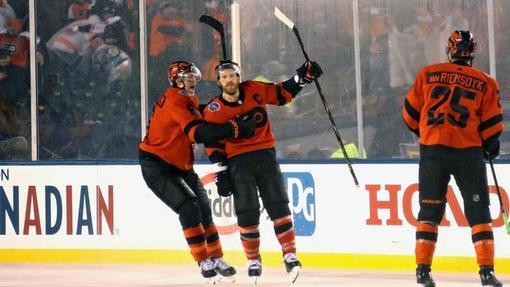 Хоккеисты «Филадельфии»