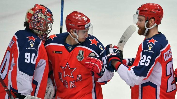 ЦСКА выиграл первые два матча
