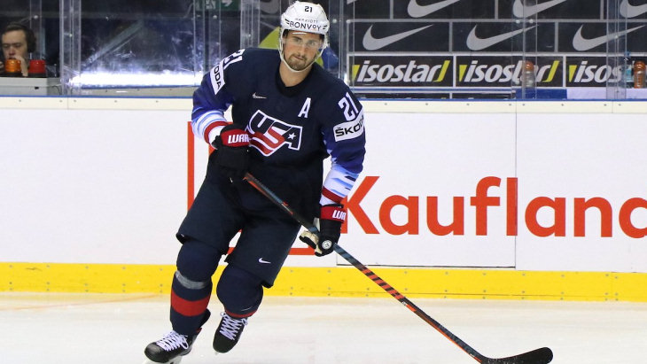 Хоккеист сборной США