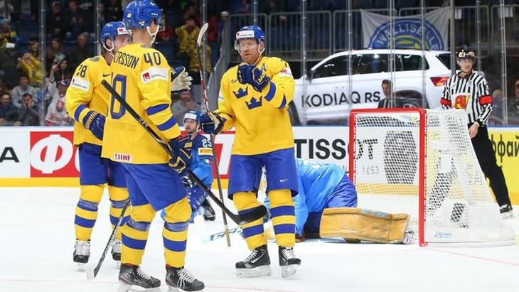 Шведы уничтожили соперника