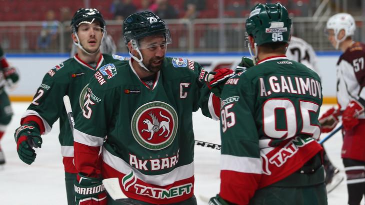 Хоккеисты «Ак Барса»