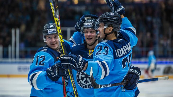 «Сибирь» одержала третью победу в четырех матчах