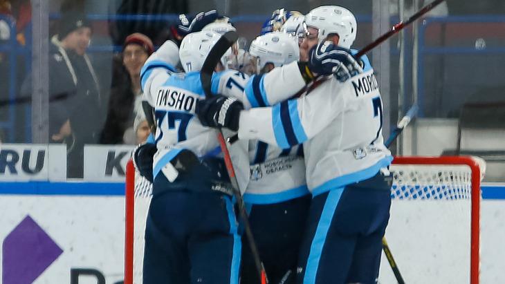 Хоккеисты «Сибири»
