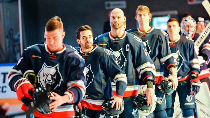 Хоккеисты «Нефтехимика»