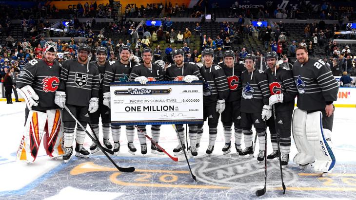 Тихоокеанский дивизион стал победителем Матча звезд НХЛ-2020