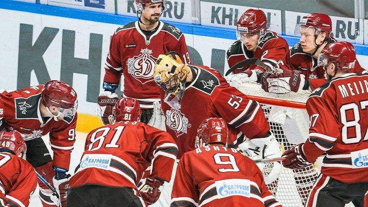 Хоккеисты рижского «Динамо»