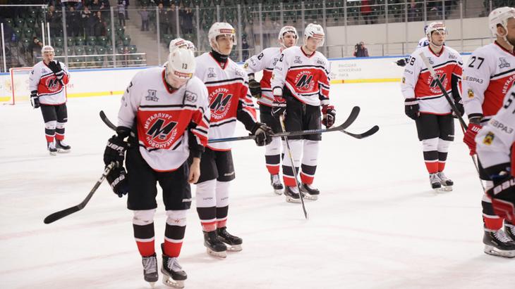 Хоккеисты «Металлурга»