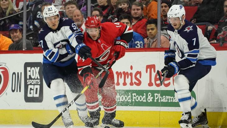 Фрагмент матча НХЛ