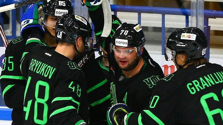 Хоккеисты «Салавата Юлаева»