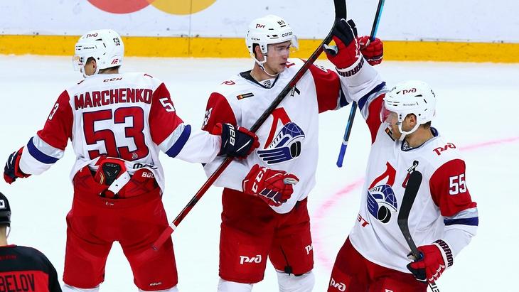 Хоккеисты «Локомотива»