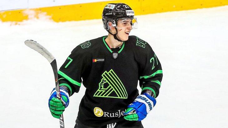 Хоккеист «Салавата Юлаева»