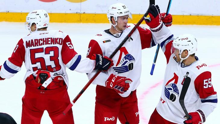 Игроки «Локомотива»