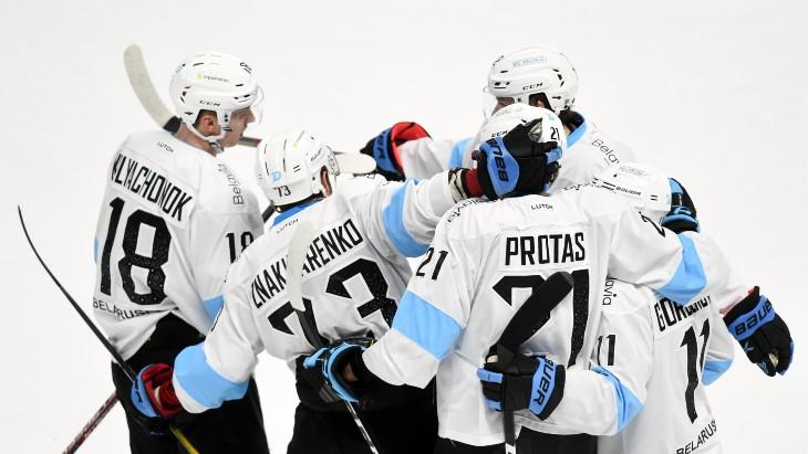 Хоккеисты «Динамо» Минск