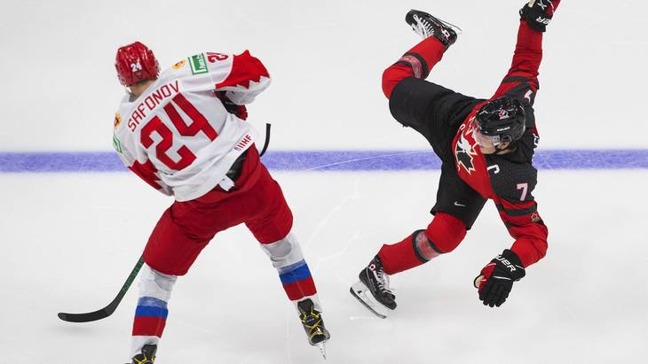 Кирби Дак получил травму после столкновения с Ильей Сафоновым