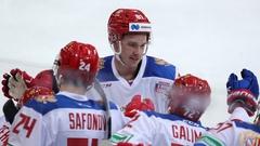 Сборная России пропустила 12 шайб в трех матчах перед ЧМ-2021