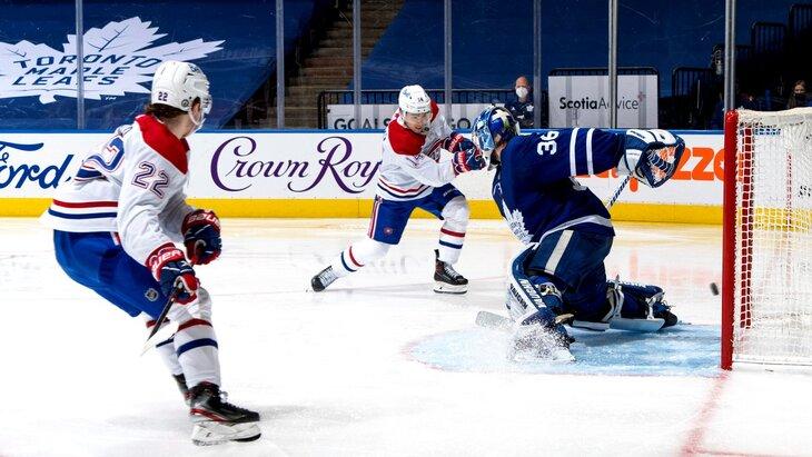 «Монреаль» не позволил «Торонто» завершить серию в пяти матчах