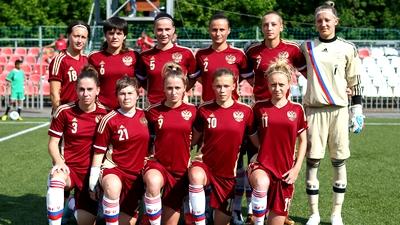 Футболистки женской студенческой сборной России